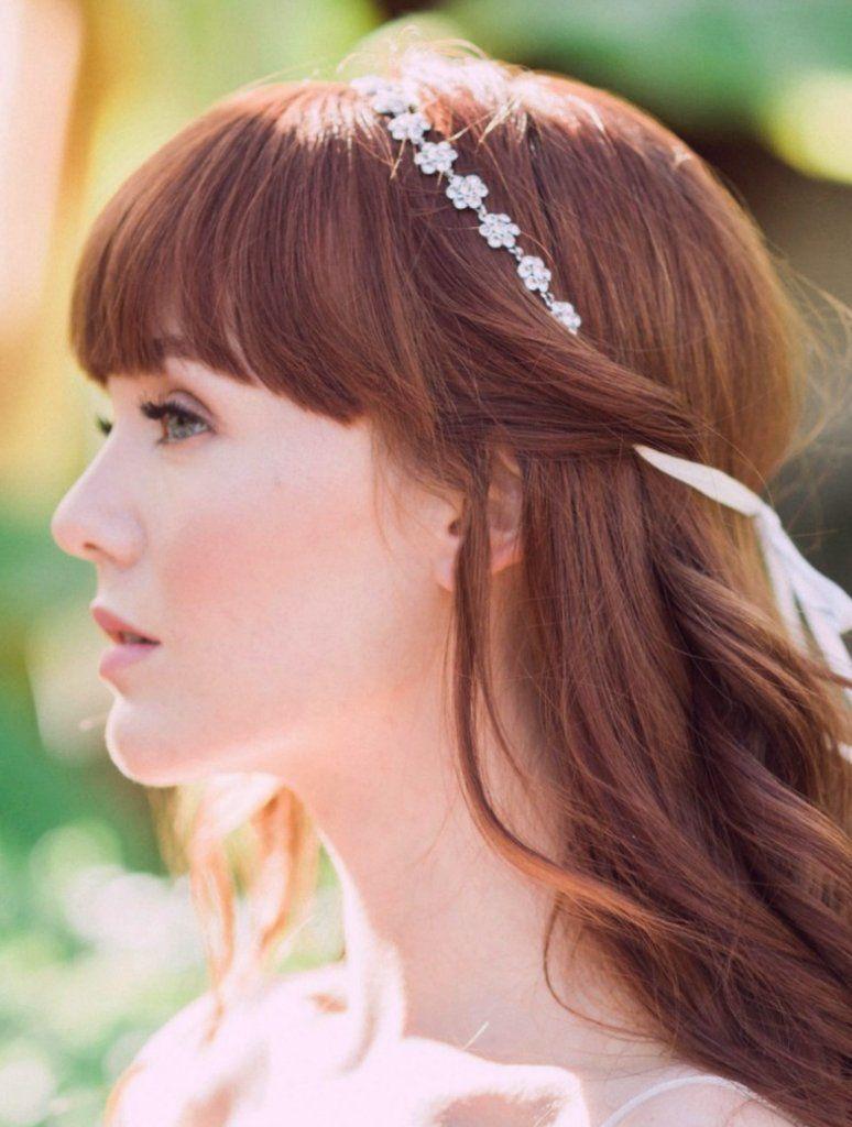 Corona de flor de oro, tocado de boda azul y oro, accesorios de pelo ...