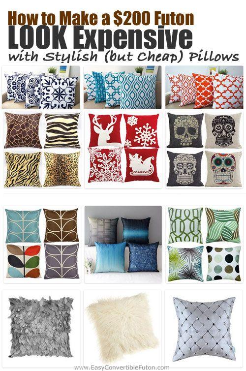 Futon Pillows Covers