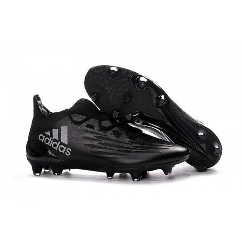 official photos 16fc7 763bf Adidas X 16.3 FG Mens Soccer Cleat Black Silver