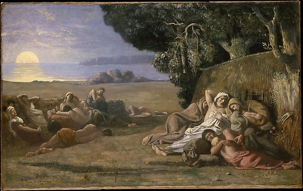 Sleep Puvis de Chavannes MET, NYC
