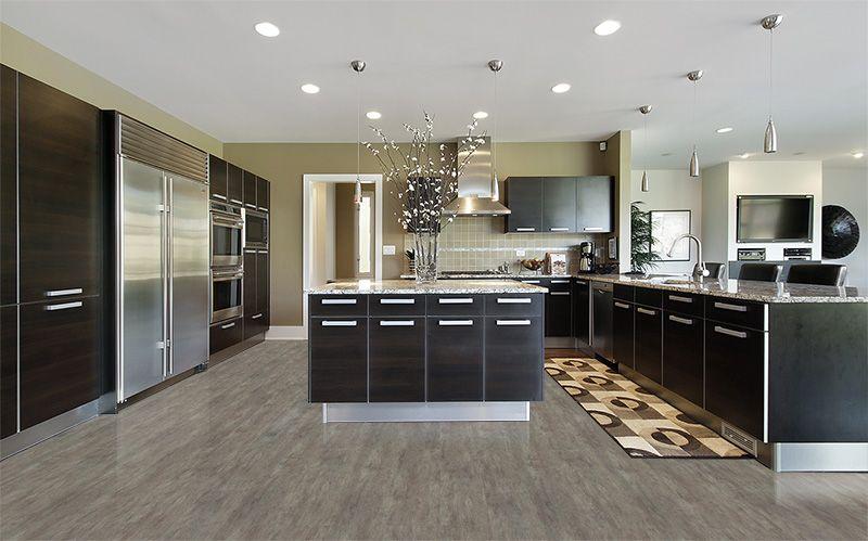 Modern Flooring Teak Vinyl Cork Luxury Kitchen Design Contemporary Kitchen Cabinets Contemporary Kitchen