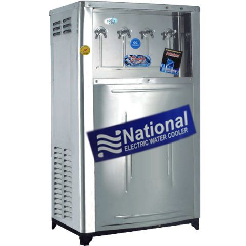 Electric Water Cooler Deluxe 110 Gallon With 4 Taps Water