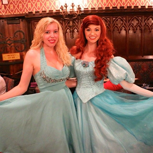 Heres another great shot of Victoria in the Lena Dress with her friend Ariel!