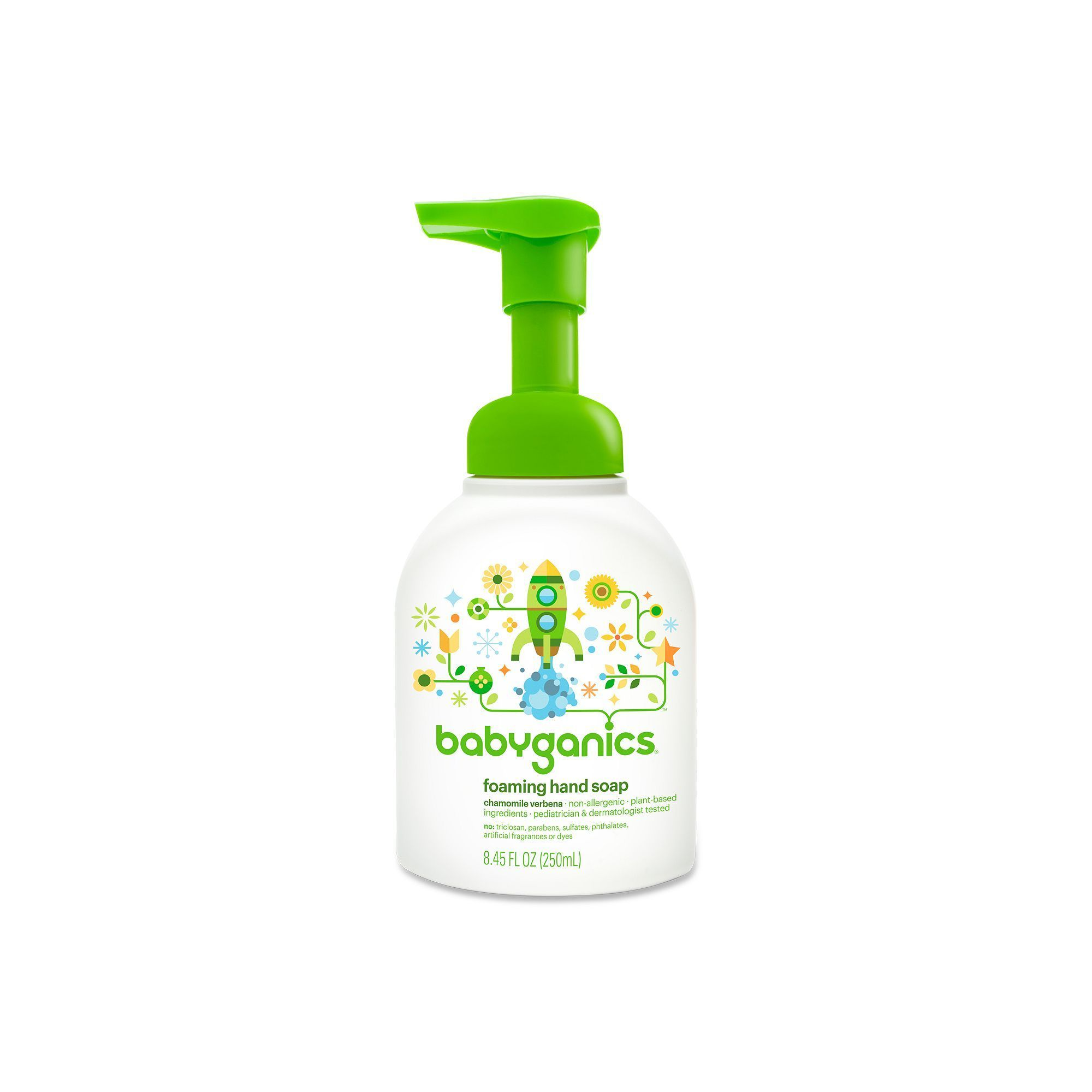 Babyganics 8 45 Oz Foaming Hand Soap Products Soap Safe Cleaning Products Hands