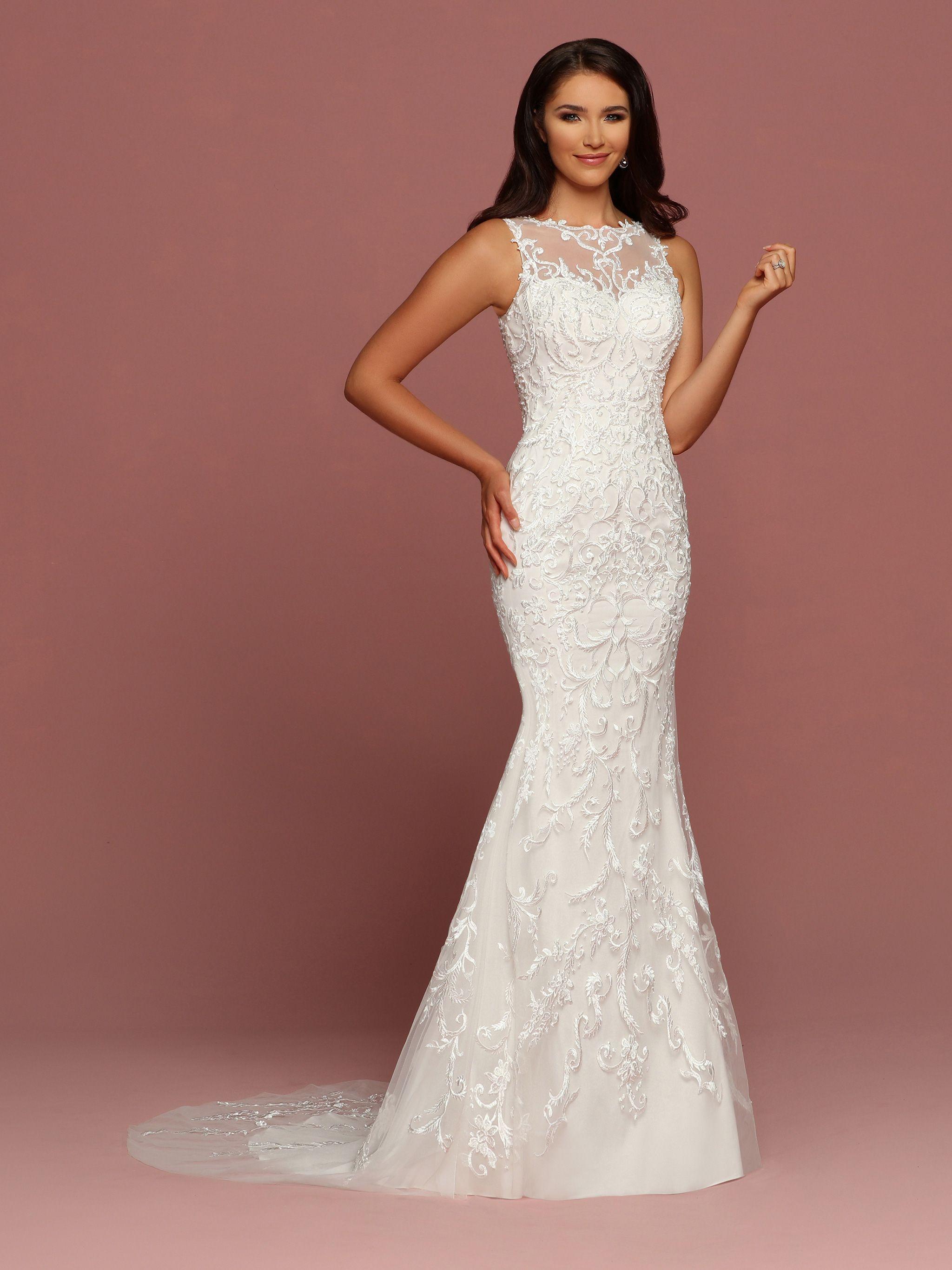 Wedding Gown Style #50481 | 2018 DaVinci Bridal | Pinterest ...