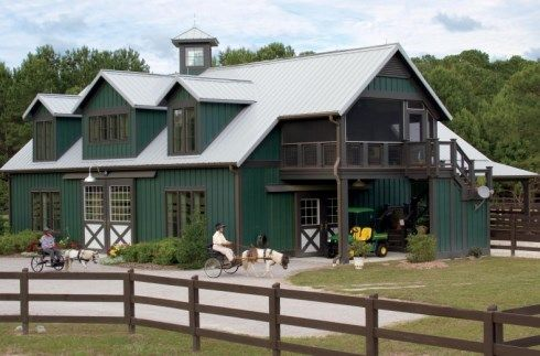 Pole Barn Homes Provide Another Viable Option For Weekend Getaways, As Well  As Year Round · Barn Homes Floor PlansMetal ...