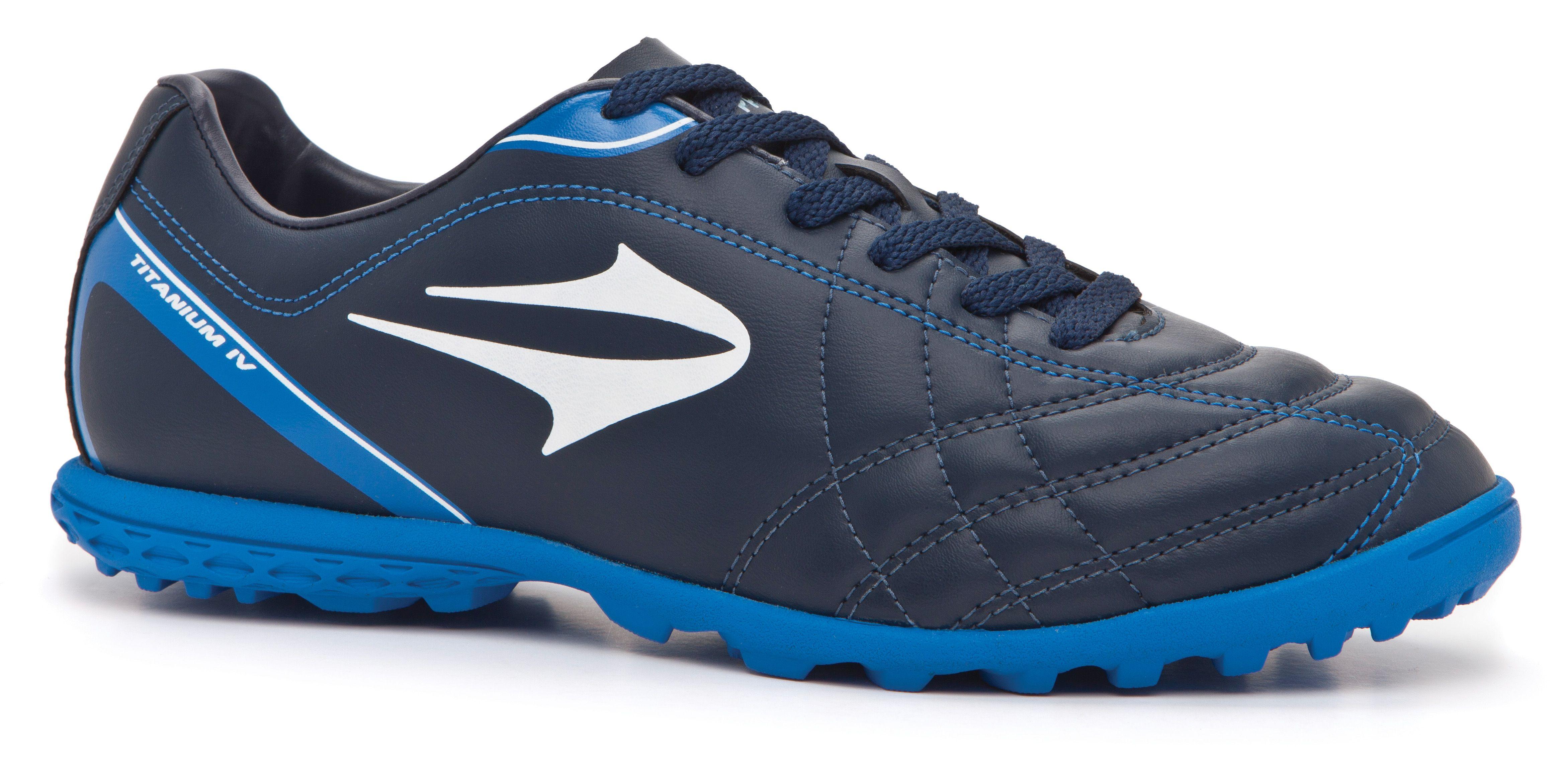 2015 chuteira Topper society Titanium IV marinho azul  7800428e983ad