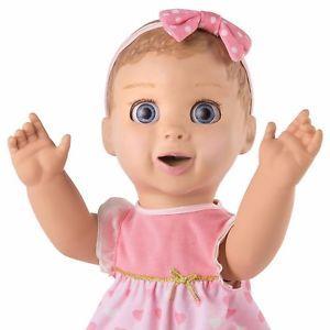 Luvabella Dark Brown Hair Responsive Baby Doll NIB