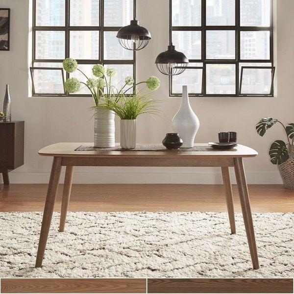 Norwegian Mid Century Danish Modern Tapered Dining Table iNSPIRE Q ...