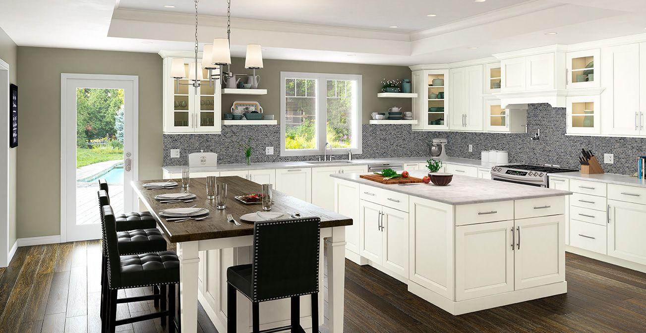 Shenandoah Solana Painted Linen | Kitchen cabinets upgrade