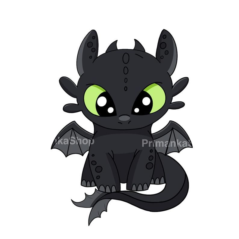 Png Toothless Light Fury How To Train Your Dragon Etsy In 2021 Cartoon Dragon How Train Your Dragon Baby Dragon