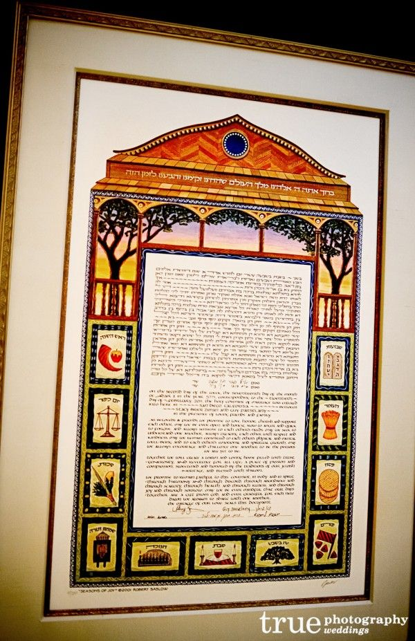 A Jewish Wedding Marriage Contract u003d The Ketubah u003c3 Judaism u003c3 - marriage contract