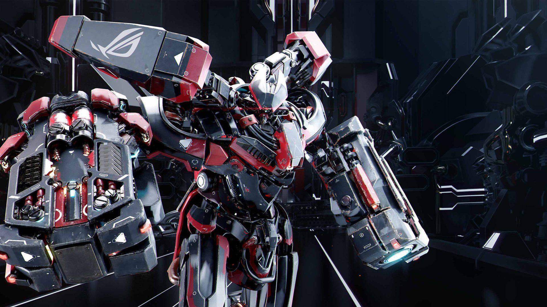 ROG Asus Robot Mecha | 4k hd, Champions