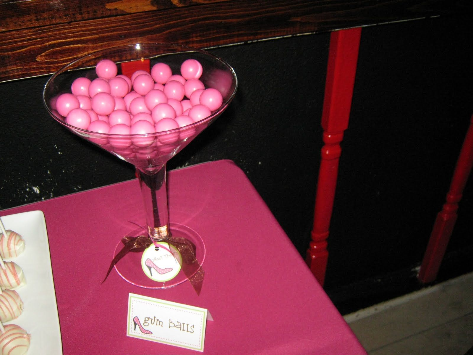 Use Margarita Or Oversized Martini Gles To Hold Candy For The Dessert Bar Cookies Cake Pops Oreo Truffles Cupcakes