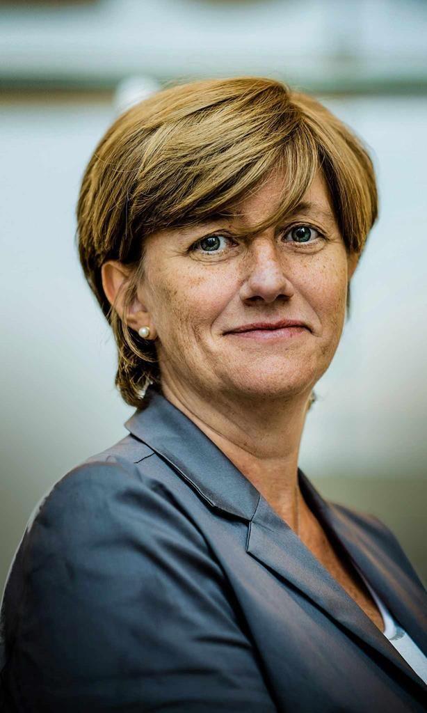 Sofie Dutotdoir, nieuwe spoorbaas.
