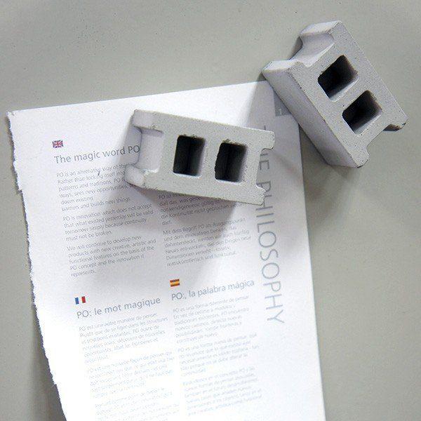 Fancy - Concrete Block Magnets