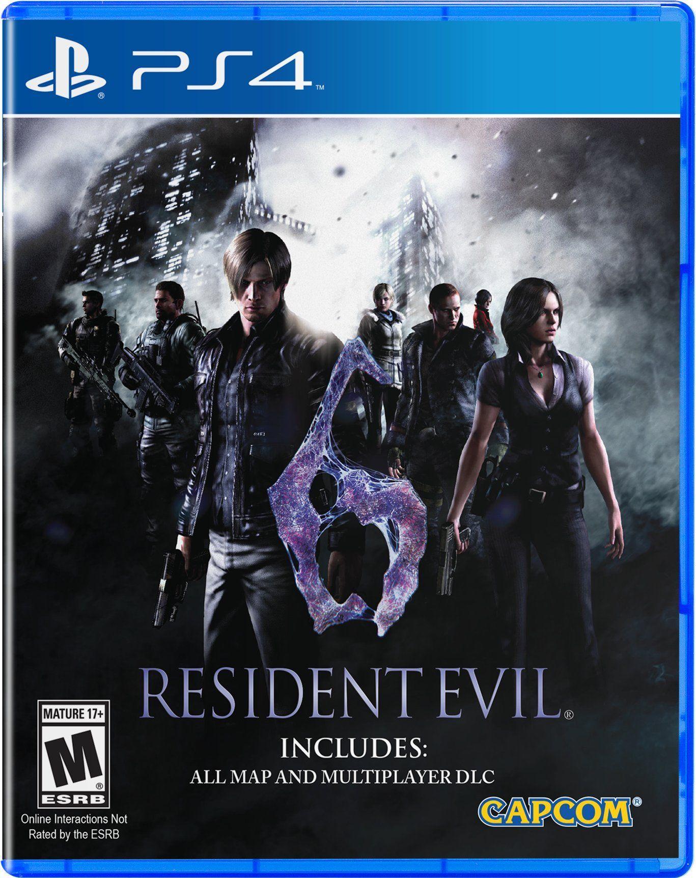 Resident Evil 6 Ps4 Pinterest Ada Wong And Xbox Revelations Region 3 English