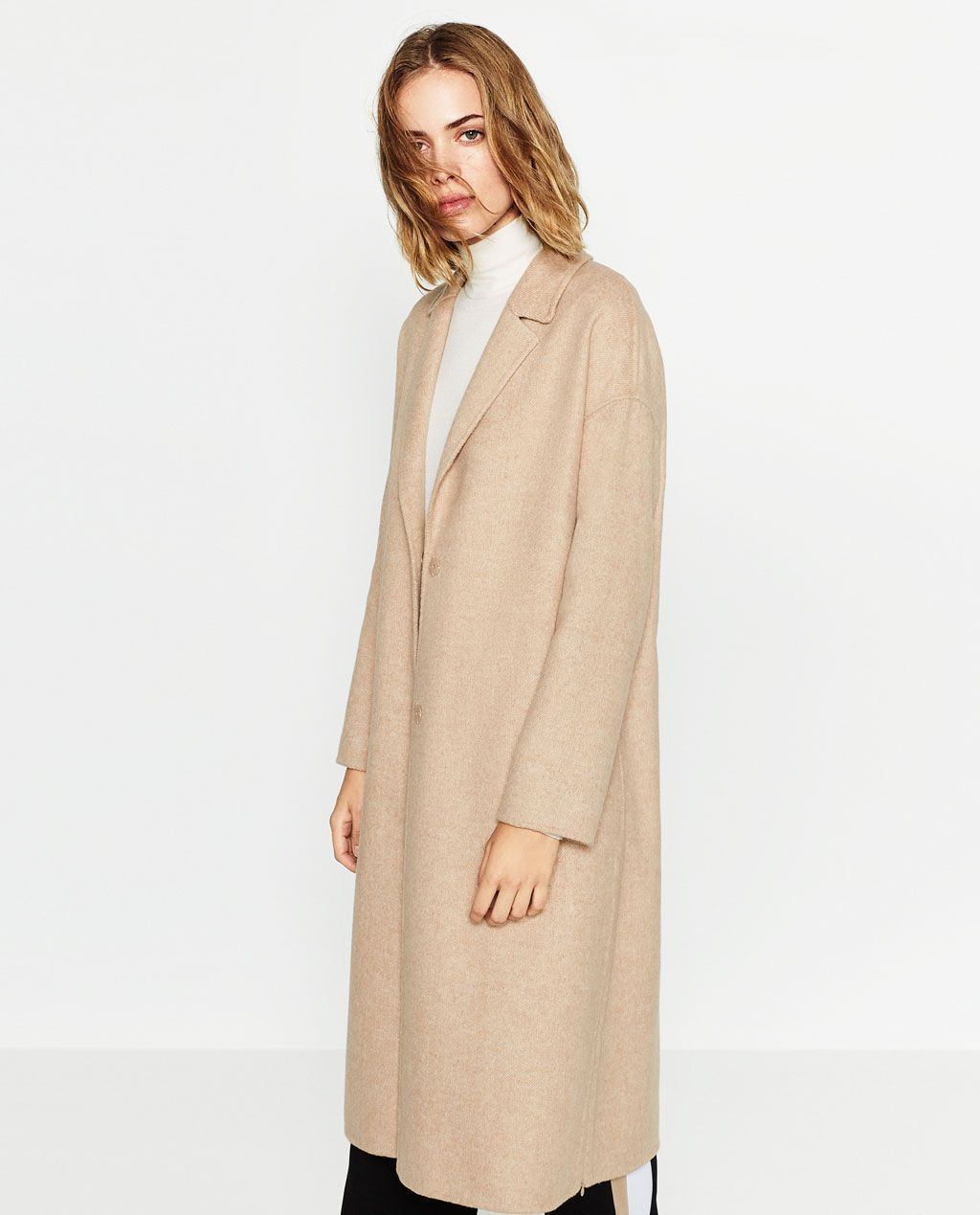 camel coat dames