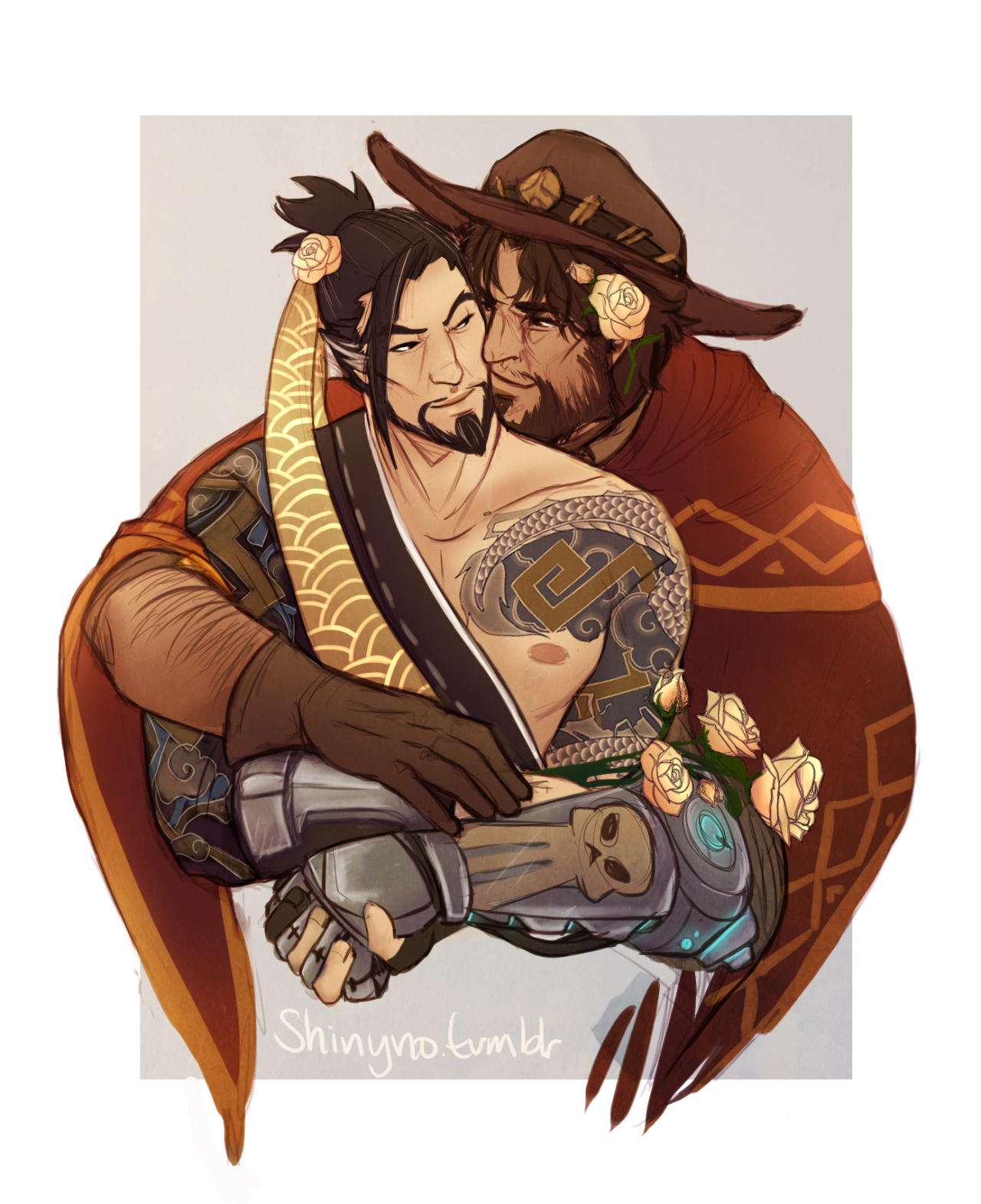 Mccree X Hanzo Rule - Year of Clean Water