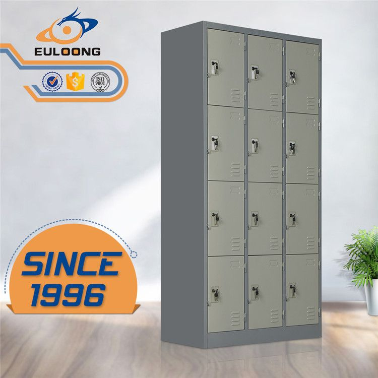 Grey Gym 12 Door Steel Locker Cabinet For Sale Philippines