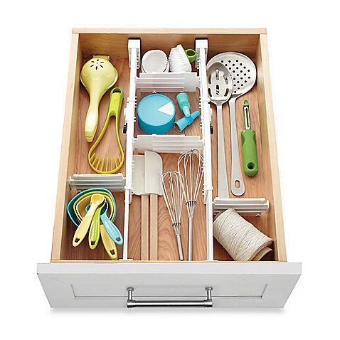 Lovely Real Simple® 6 Piece 2 Way Expandable Drawer Divider: To Keep Drawers