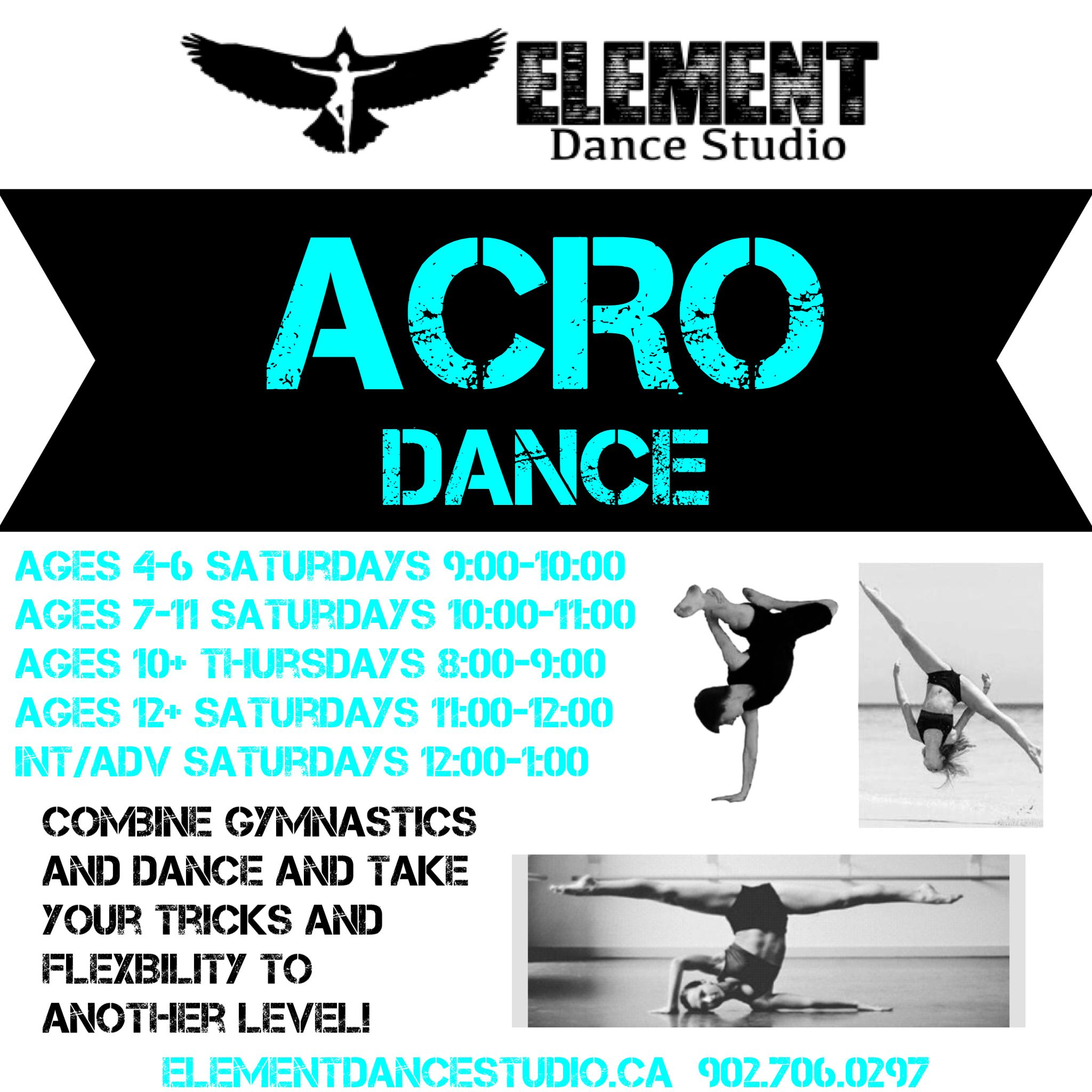 Combine gymnastics and dance to learn fun and exciting