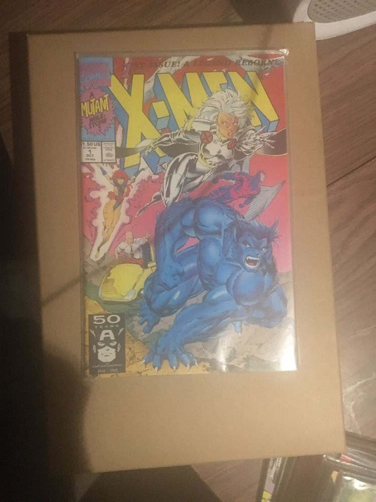 X Men 1 October 1991 1st Issue A Legend Reborn A Mutant Milestone Marvel Comics Marvel Comics Marvel X Men