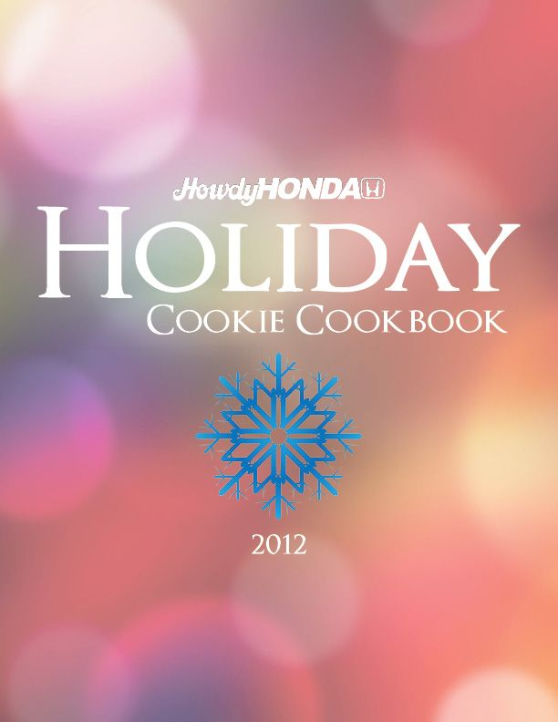 2012 Holiday Cookie Cookbook PDF (Over 30 cookie recipes!)