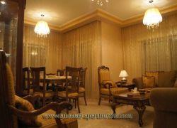 شقة 3 غرف نوم مفروشة للايجار في شارع المدينة المنورة في عمان الاردن
