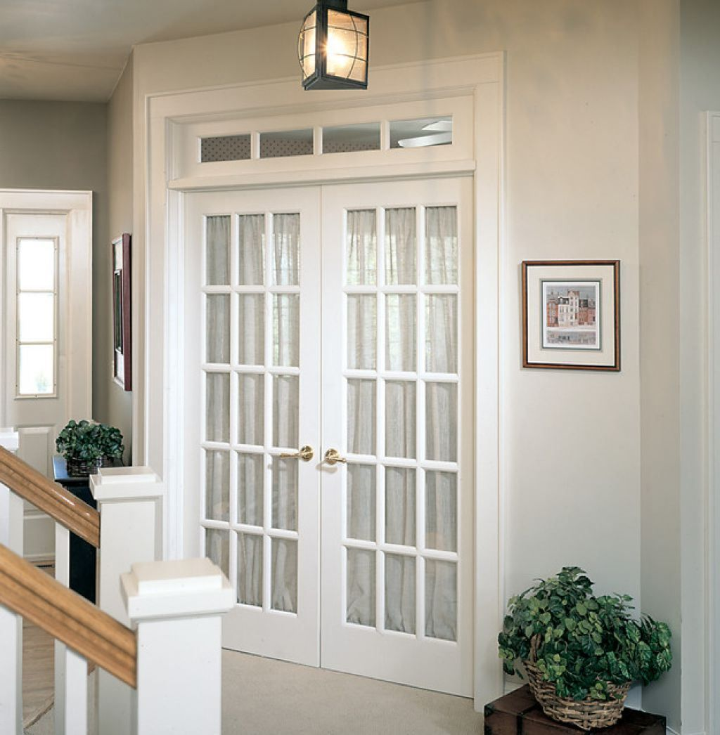 White Interior French Doors With Glass French Doors Interior