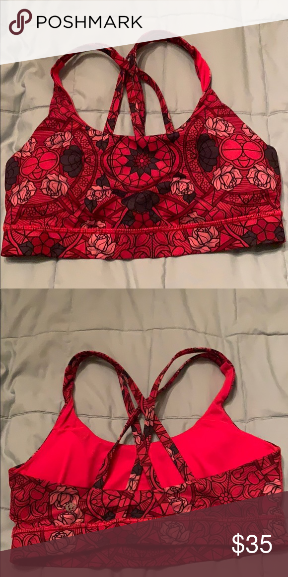8b7837e10cdd Lululemon energy bra Has pads Older style but good condition lululemon  athletica Intimates & Sleepwear Bras