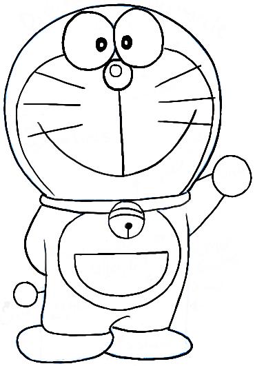 Doraemon Coloring Pages Cute Cartoon Drawings Easy Cartoon Drawings Disney Drawings Sketches
