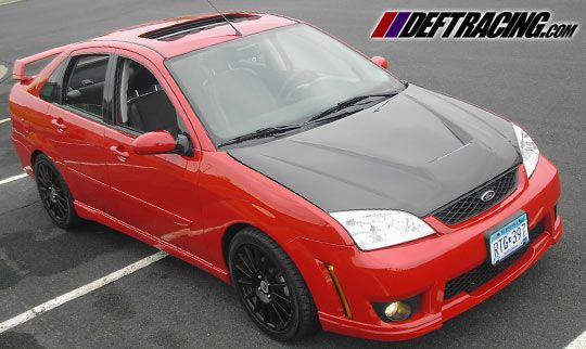 05 06 07 Ford Focus Invader Carbon Fiber Hood Need This On My