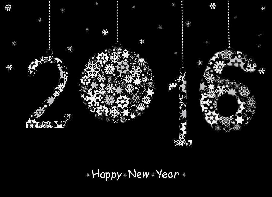 happy new year 2016 dark desktop wallpaper new years pinterest