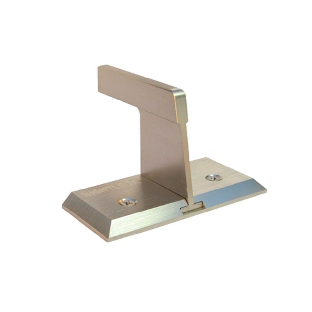Nightlock Brushed Nickel Sliding Patio Door Security Lock 13002