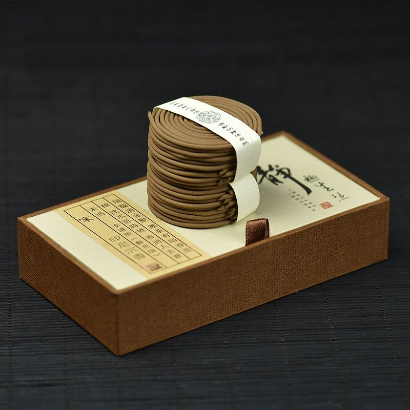 100% Natural Eaglewood Agarwood Incense Coil Beautifully Packaged