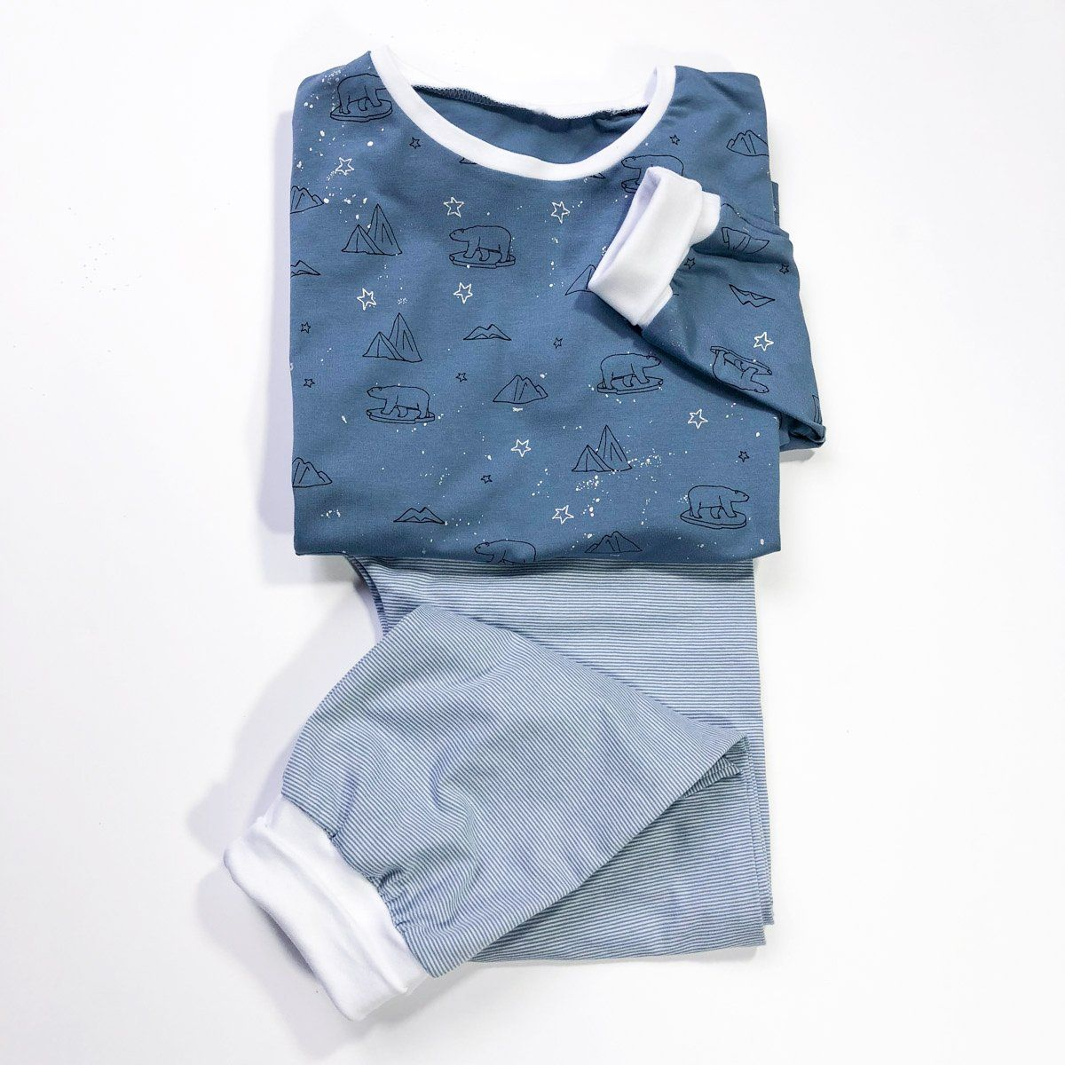 3447f21417770 Patron de couture Pyjama mixte SACHA PDF 3-12A – ikatee
