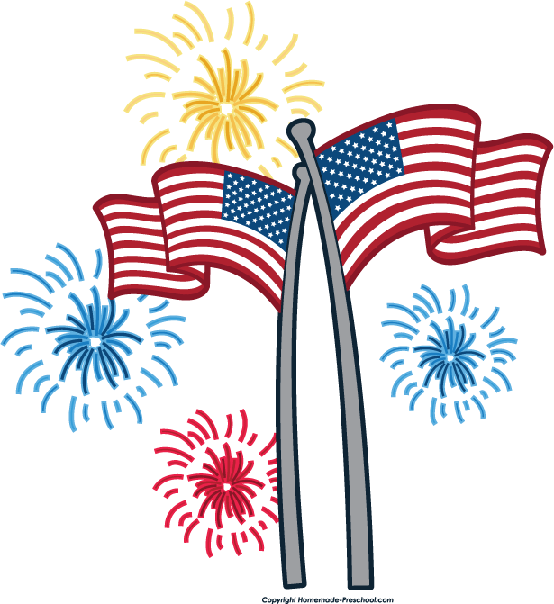 http www homemade preschool com image files flag fireworks png rh pinterest nz free clipart happy 4th of july