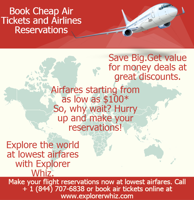 Get air tickets for as low as 100* Book value for money