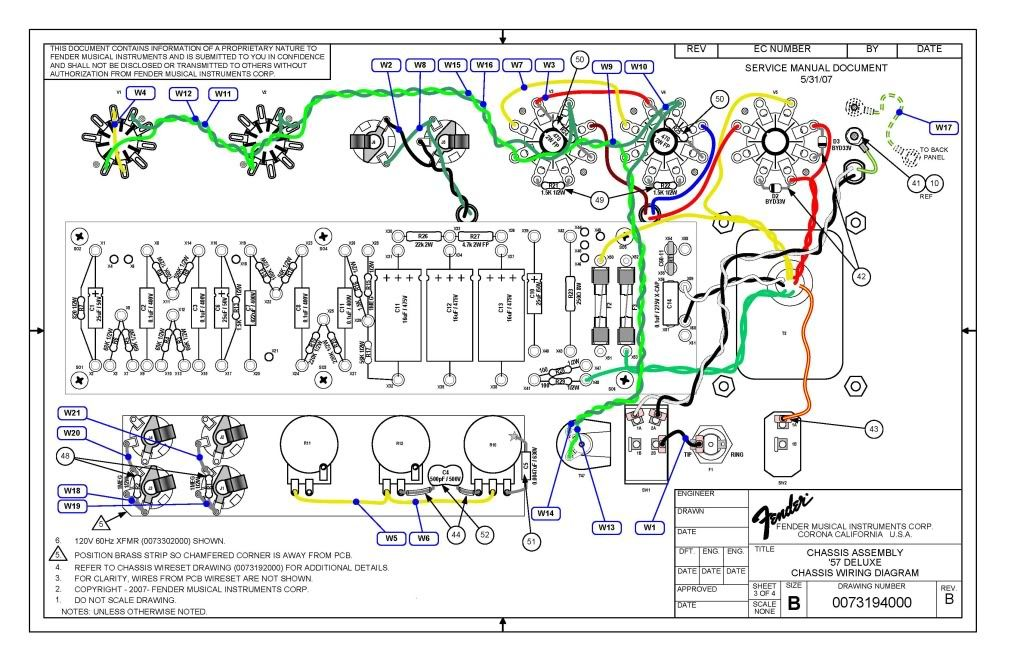 First Amp Build - Tweed Deluxe - Page 5 - MyLesPaul.com | Amp ... seymour duncan les paul wiring diagram Pinterest