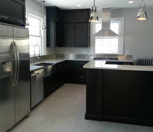 kitchen remodel in bangor me designed by atlantic designs in