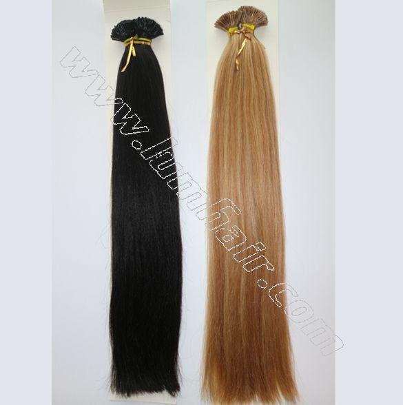 Wholesale 05g Keratin Bond Hair Extensions Straight Fusion Hair