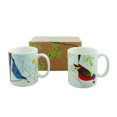 Harper Mugs Nuthatch Bunting 2Pc, $29.95, now featured on Fab.
