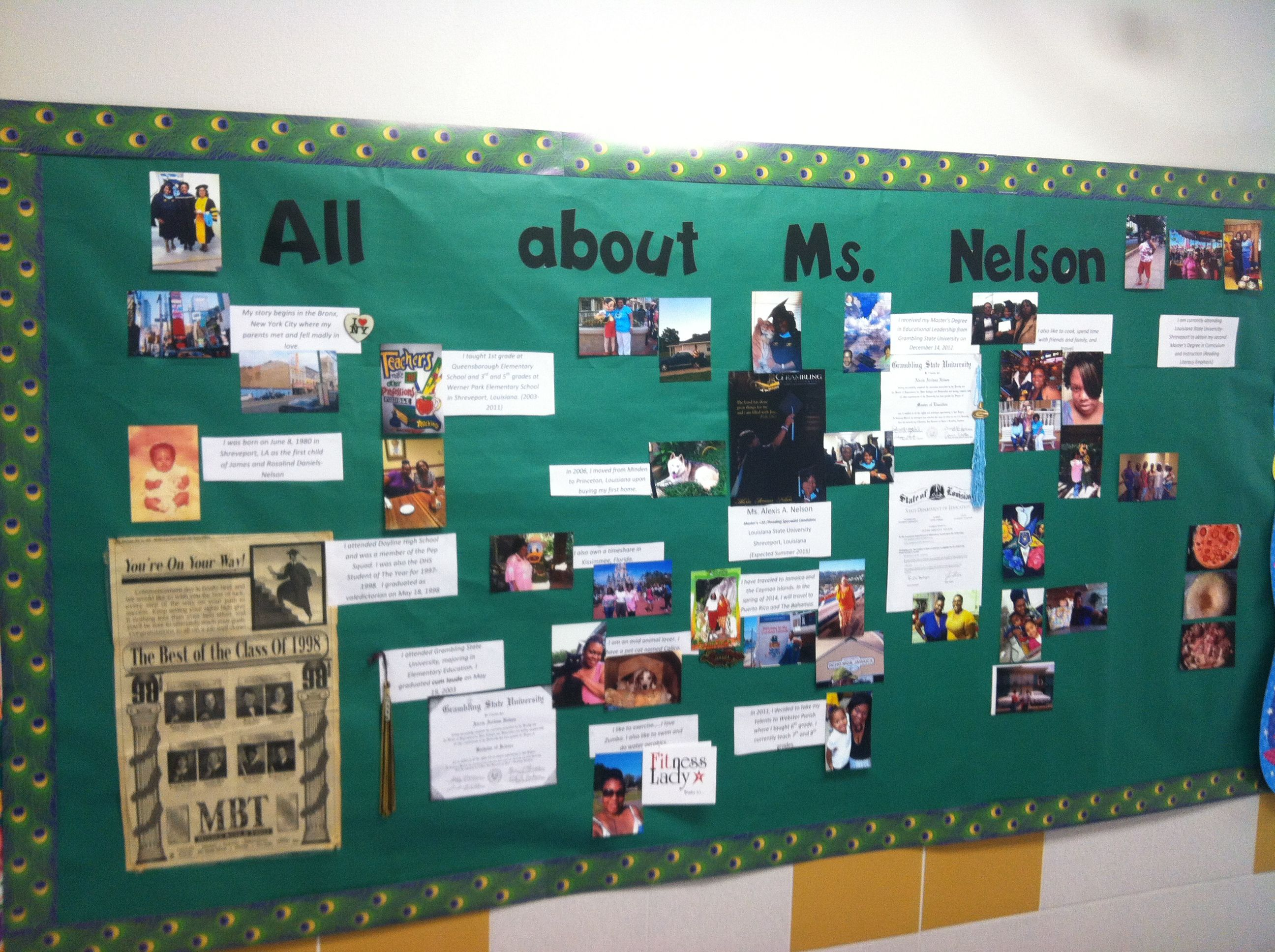 All about me board!