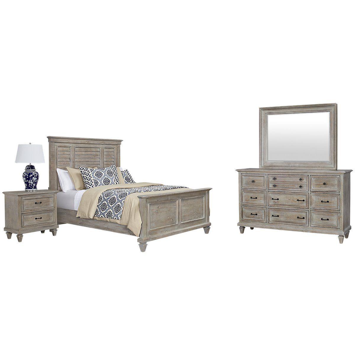 City Furniture Sonoma Light Tone Panel Bedroom Bedroom Panel Bedroom Sets Bedroom