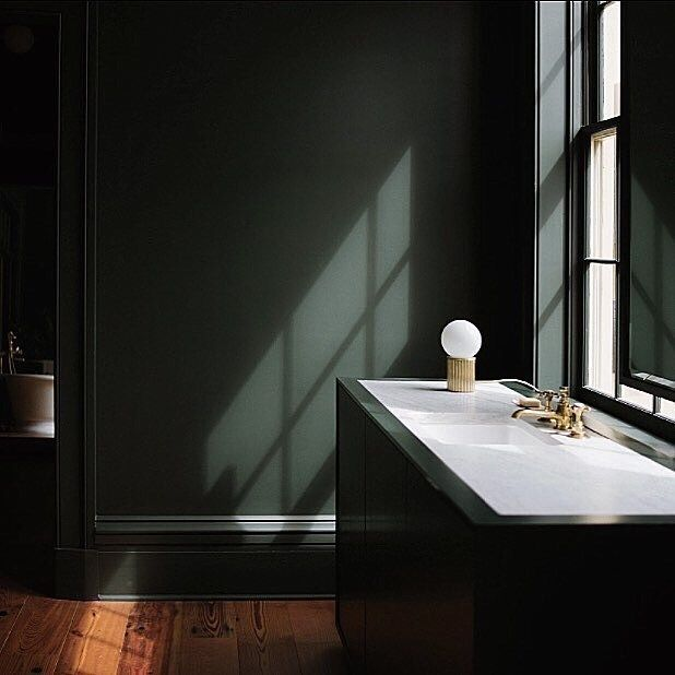 farrow ball studio green in 2020 dark green walls on best color for studio walls id=26385
