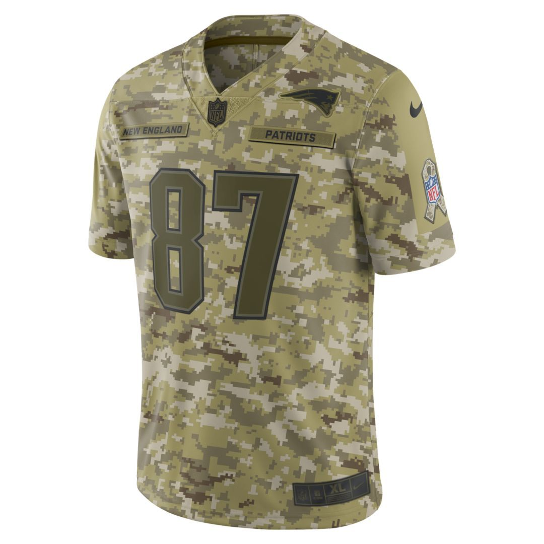 Nfl New England Patriots Salute To Service Limited Jersey Rob Gronkowski Men S Football Steelers Salute To Service Salute To Service Nfl New England Patriots