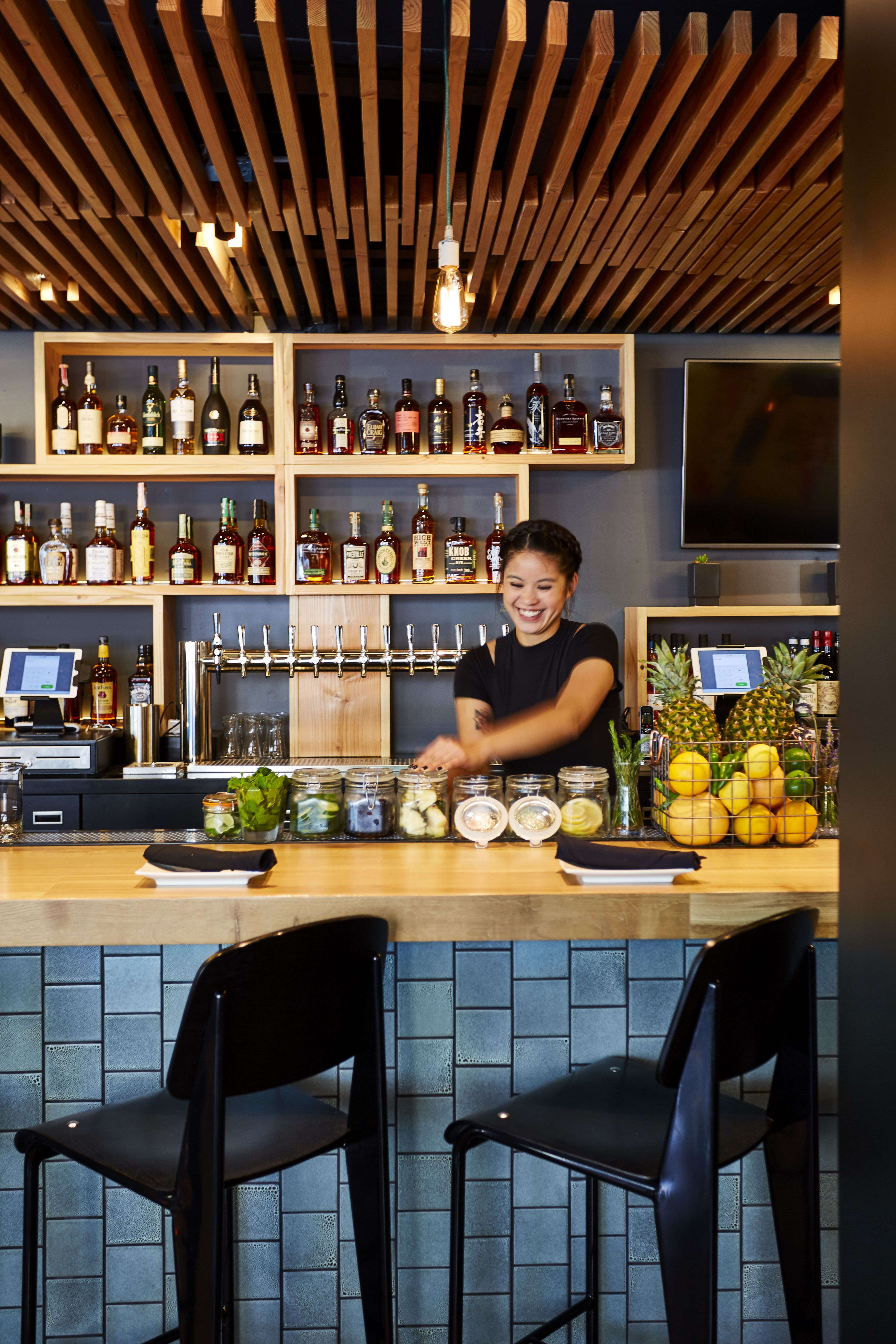 a popular burger joint flaunts its roots with the help of a design collective photo 6 of 9