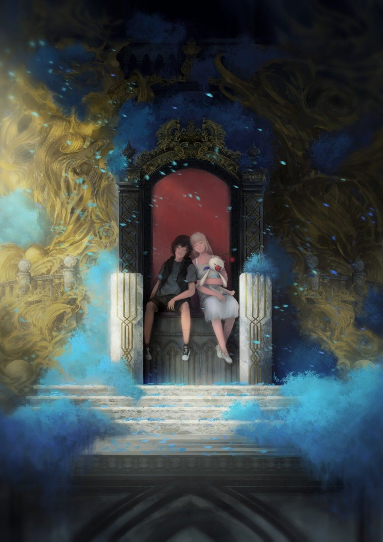 Noctis Luna Final Fantasy Xv Final Fantasy Xv Wallpapers Final