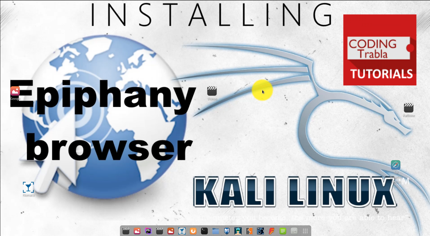 How to install Epiphany Browser on Kali Linux GNOME